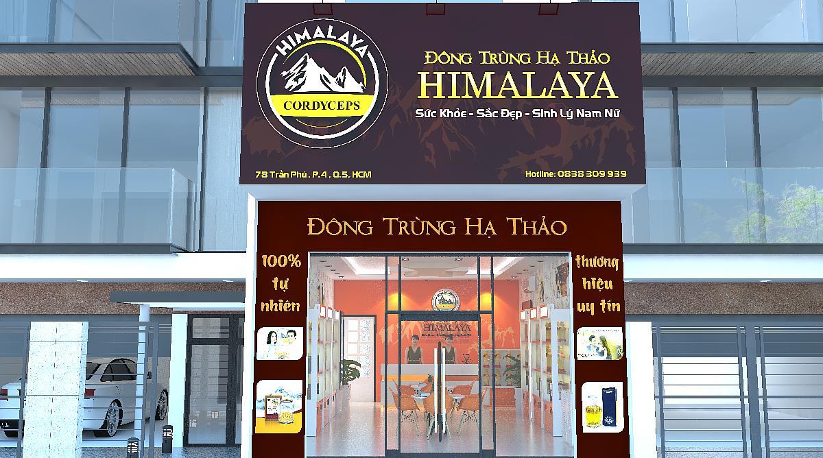 showroom Đông Trùng Hạ Thảo Himalaya