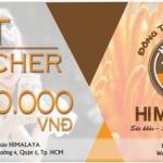 Quà tặng Gift Voucher Ưu đãi lên đến 1.000.000đ cho sản phẩm