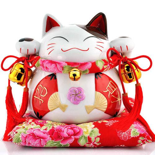 quà tặng khai trương cửa hàng - mèo may mắn