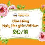 Mừng ngày Nhà giáo Việt Nam cùng HIMALAYA