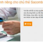 Chủ thẻ Sacombank được ƯU ĐÃI Mua Sắm Cực Shock tại Himalaya.vn
